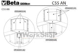 Angolo interno Beta C55 AN