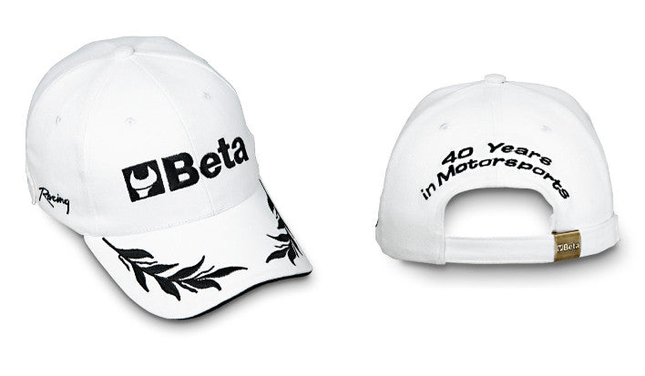 Cappellino Beta Ricamato 40 Anni in Motorsport