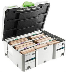 Assortimento DOMINO XL faggio DS/XL D12/D14 128x BU Festool
