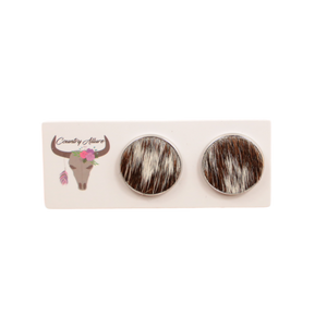 COUNTRY ALLURE COWHIDE STUD