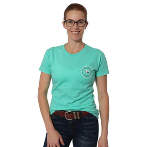 RINGERS WESTERN WOMENS DERBY CLASSIC T-SHIRT