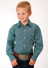 Load image into Gallery viewer, ROPER BOYS LONG SLEEVE SHIRT AMARILLO COLLECTION