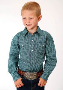 ROPER BOYS LONG SLEEVE SHIRT AMARILLO COLLECTION