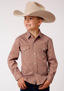 ROPER BOYS LONGSLEEVE AMARILLO COLLECTION