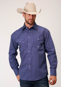 ROPER MENS AMARILLO COLLECTION LONGSLEEVE SHIRT
