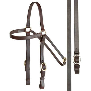 AINTREE BARCOO BRIDLE WITH REINS