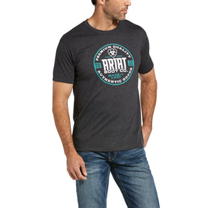 ARIAT MENS CIRCLE SHORT SLEEVE TEE