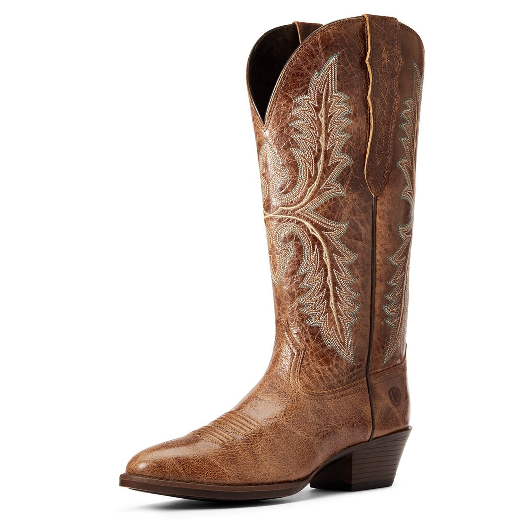 ARIAT WOMENS HERITAGE ELASTIC CALF
