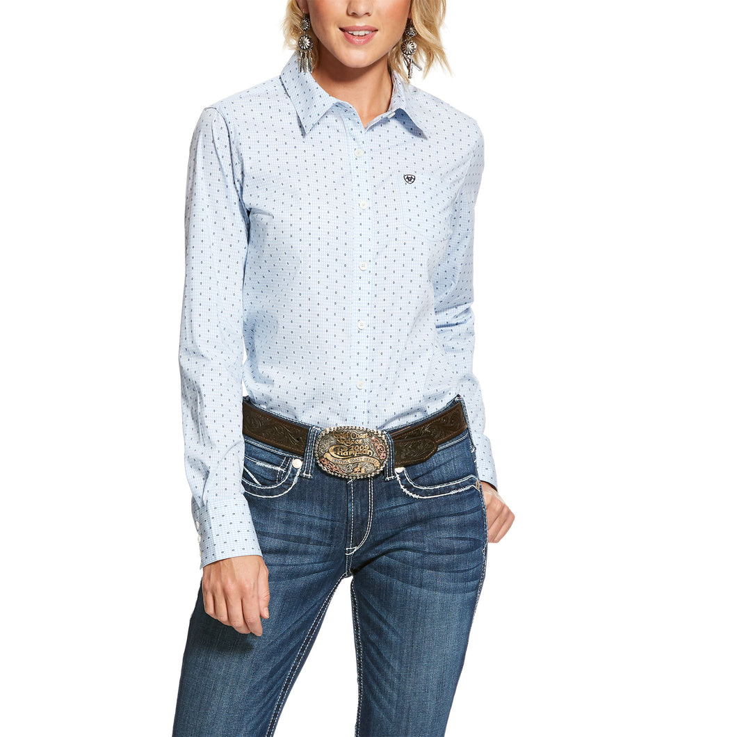 ARIAT WOMENS KIRBY STRETCH LONG SLEEVE SHIRT