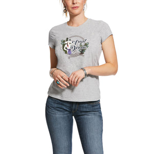 ARIAT WOMENS ROPED FRAME TEE