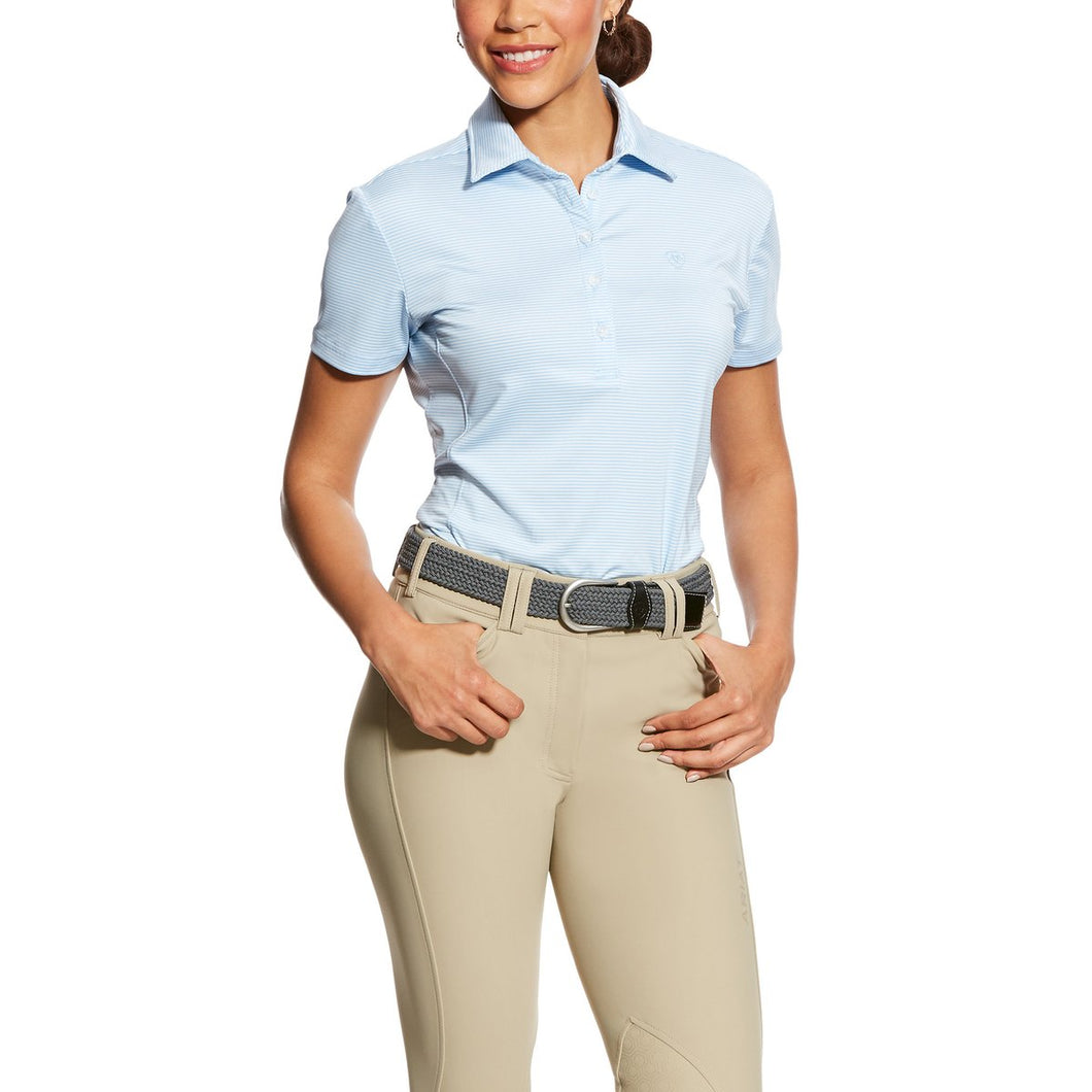 ARIAT WOMENS TALENT POWDER POLO SHIRT