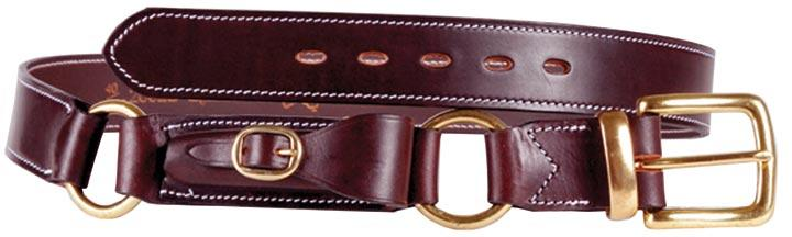 AUSTRALIAN MADE HOBBLE BELT DOUBLE RING WITH POUCH