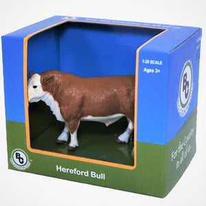 BIG COUNTRY TOYS HEREFORD BULL