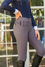 Load image into Gallery viewer, BLACK HORSE BIANCA BREECHES