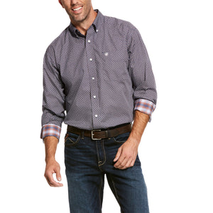 ARIAT MENS WRINKLE FREE VALKER SHIRT