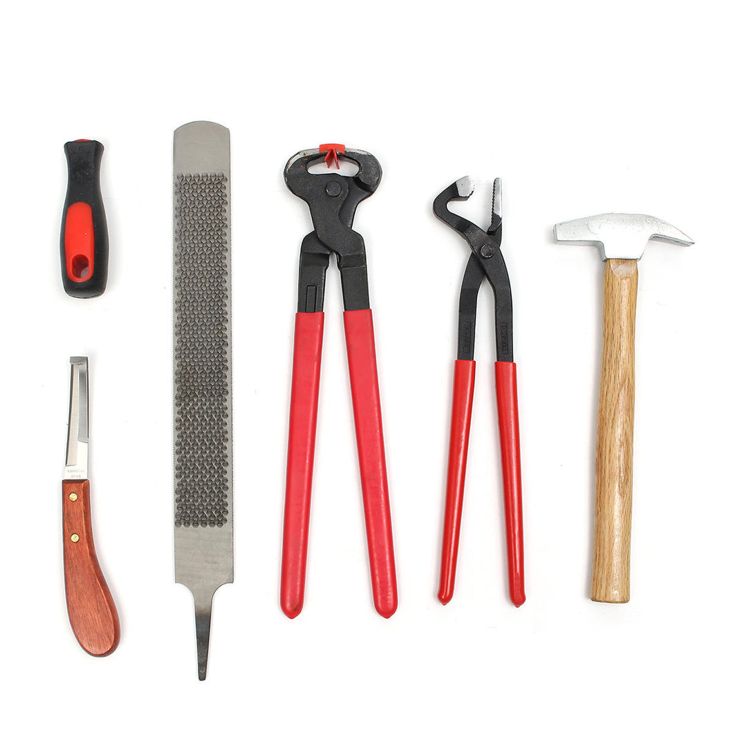 FARRIERS 6 PIECE SHOEING KIT