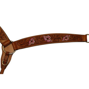FORT WORTH FLORAL CARVED BREASTCOLLAR