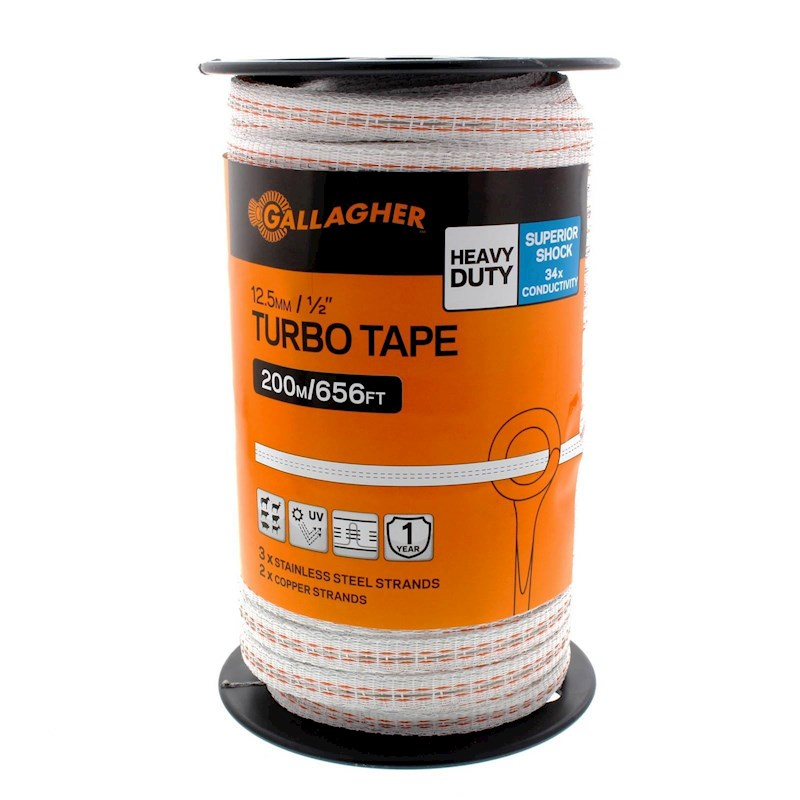 GALLAGHER TURBO TAPE 12.5MM