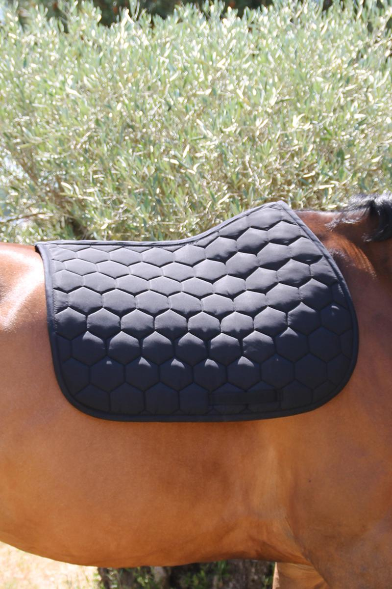 HARCOUR GREEN DRESSAGE SADDLE PAD