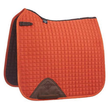 Load image into Gallery viewer, LEMIEUX DRESSAGE SQUARE SUADE SADDLEPAD