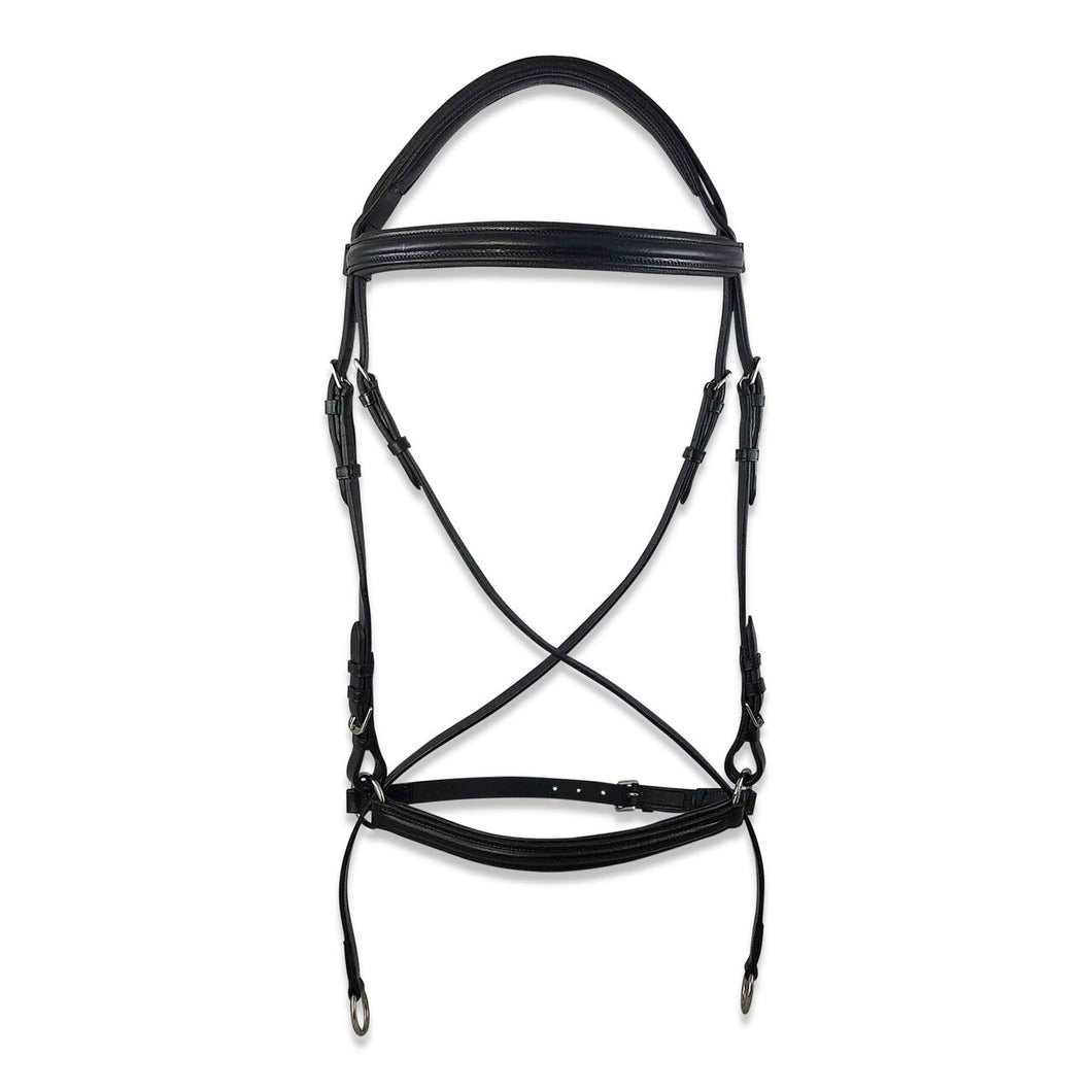 NORFOLK BITLESS BRIDLE W/REINS