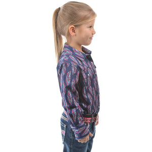 PURE WESTERN GIRLS TRIXIE LONG SLEEVE SHIRT