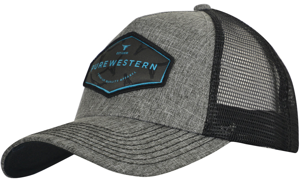 PURE WESTERN MENS JAMES TRUCKER CAP