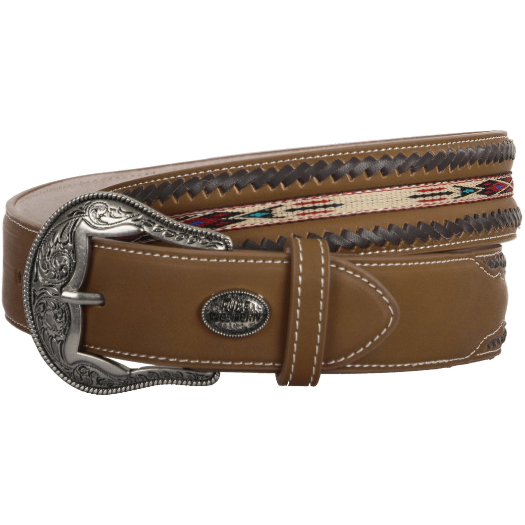 PURE WESTERN MENS JASON BELT