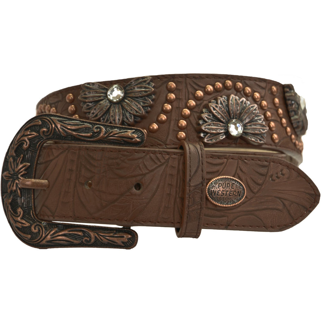 PURE WESTERN WOMENS BARBARA BELT