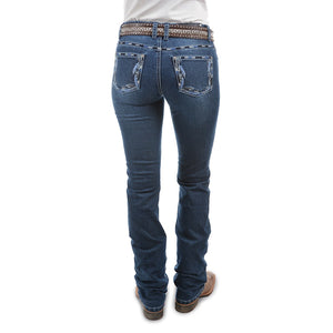 PURE WESTERN WOMENS LOUISIANA RIDER JEANS