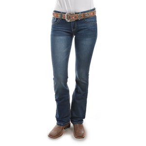 PURE WESTERN WOMENS TASHA BOOT CUT JEANS