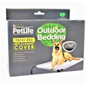 PURINA PETLIFE OUTDOOR PATIO BED REPLACEMENT COVER
