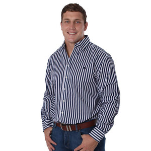 RINGERS WESTERN MENS CAULFIELD SEMI FIT SHIRT