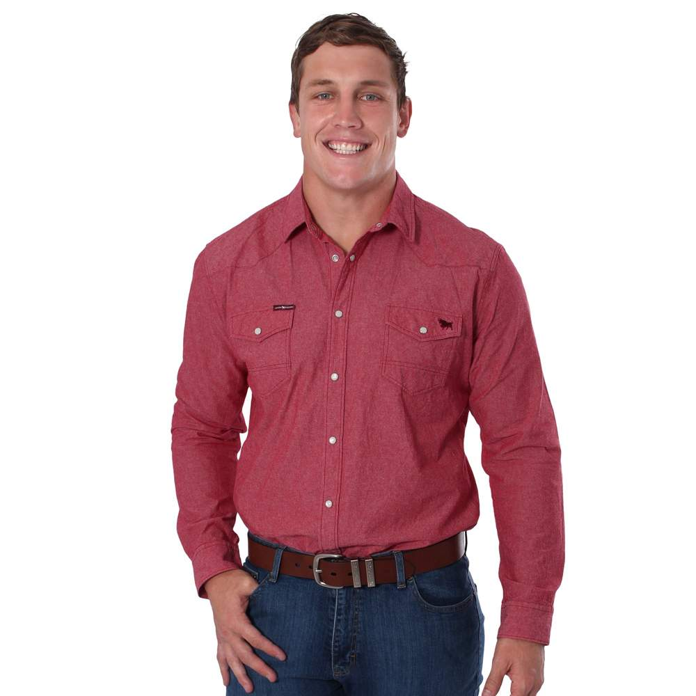 RINGERS WESTERN MENS TAMWORTH SLIM FIT SHIRT