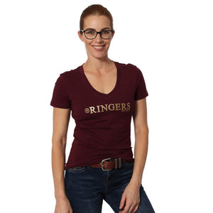 RINGERS WESTERN TANAMI WOMENS SCOOP NECK TOP