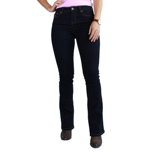 RINGERS WESTERN WOMENS KATHERINE MID RISE JEANS