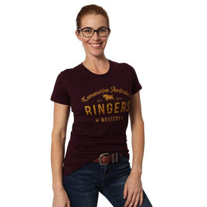 RINGERS WESTERN MEDA WOMENS CLASSIC SHIRT