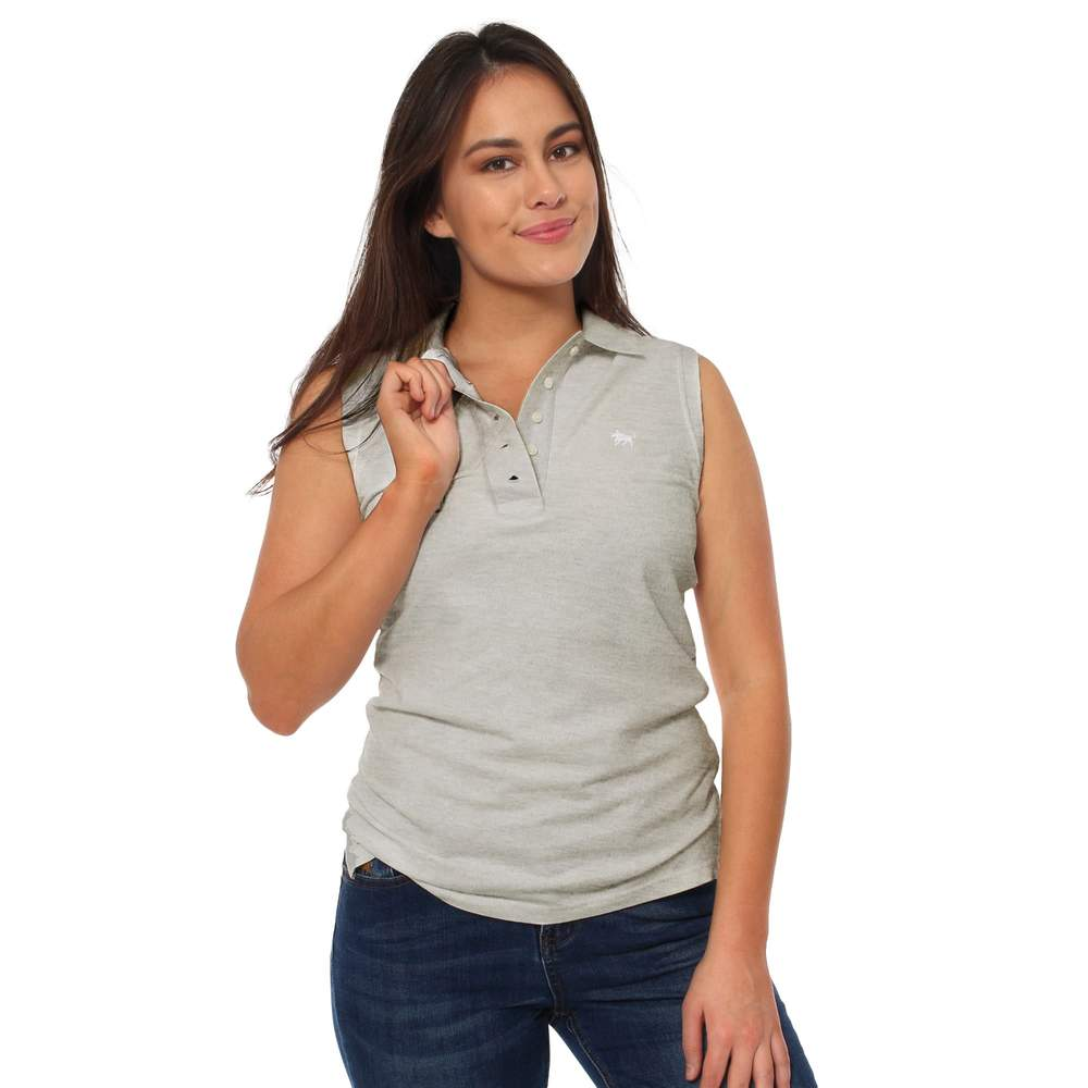 RINGERS WESTERN WOMENS SLEEVELESS POLO