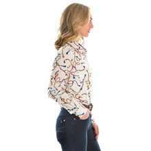 Load image into Gallery viewer, THOMAS COOK WOMENS LONG SLEEVE JEAN SHIRT