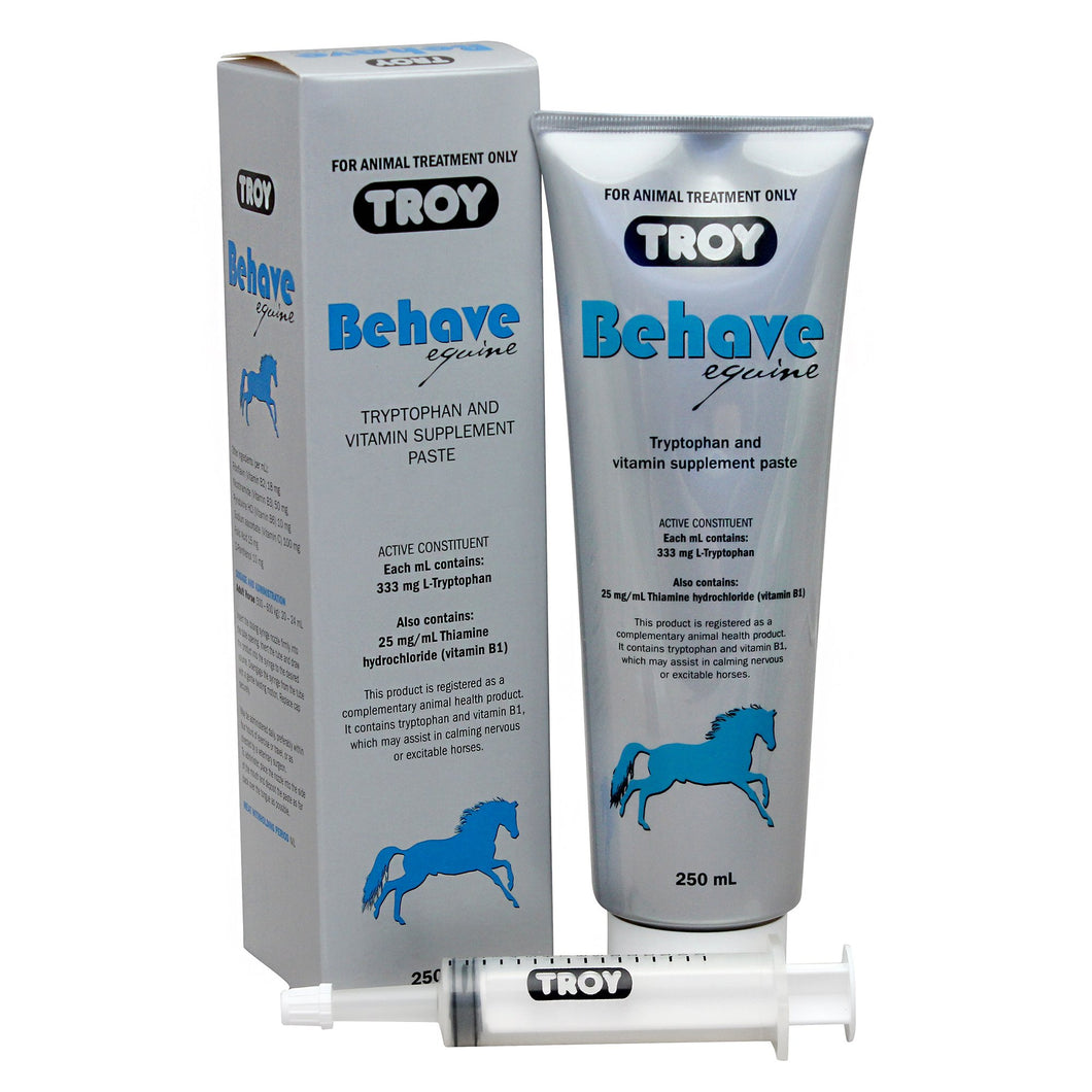 TROY BEHAVE EQUINE PASTE