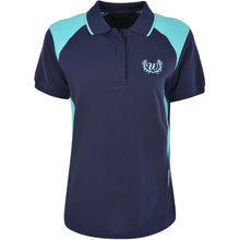 Load image into Gallery viewer, WRANGLER WOMENS KELLY SPLICED POLO