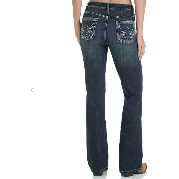 WRANGLER WOMENS SHILO ULTIMATE RIDING JEANS