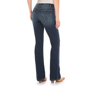 WRANGLER WOMENS ULTIMATE RIDING JEAN - Q BABY