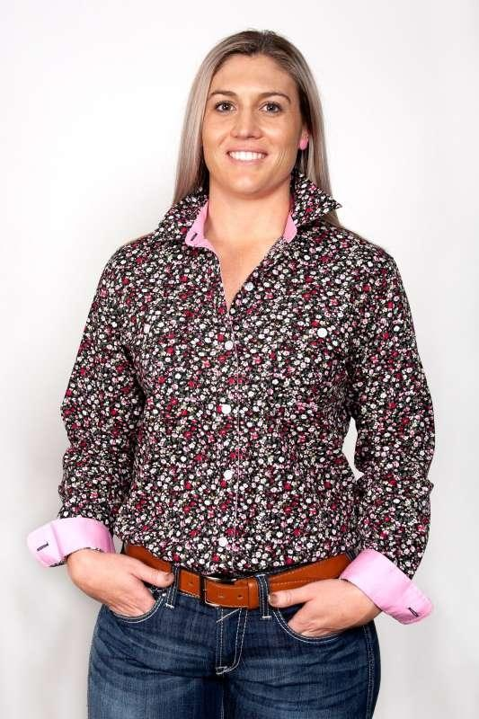 JUST COUNTRY WOMENS ABBEY FULL BUTTON