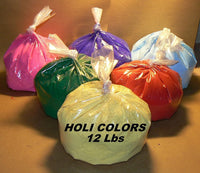 Holi Colors - Festival Colors ( 6 * 2 Lbs ) Non-Toxic Holi color  High Quality Holi Colors