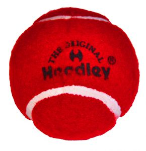 Headley Red Cricket Tennis Balls