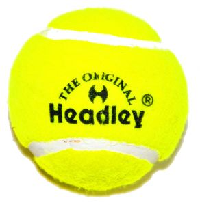 Headley Yellow Hard & Heavy Cricket Tennis Balls