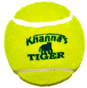 Khanna Tiger Yellow Hard & Heavy Cricket Tennis Balls