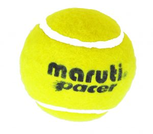 Maruti Yellow Hard & Heavy Cricket Tennis Balls