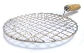 Round Stainless Steel Round Roti Grill, Papad Grill,Roti Jali, Chapathi Grill